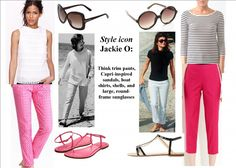 inspired by the style of jackie o Estilo Jackie Kennedy, Jackie Onassis Kennedy, Jaqueline Kennedy, Fashion And Beauty Tips, Passion For Fashion, Jackie Oh, Preppy Style, My Style, Boat Shirts