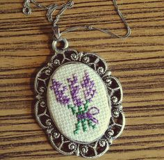 Lavender Love Learn Embroidery, Cross Stitch Embroidery, Hand Embroidery, Baby Cross Stitch Patterns, Cross Stitch Designs, Palestinian Embroidery, Cross Stitch Heart, Christmas Cross, Cross Stitching