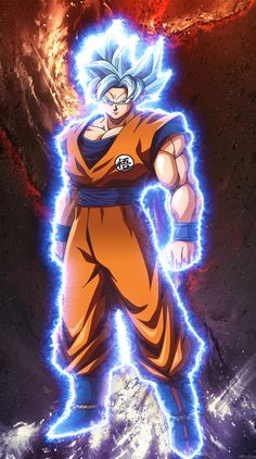 How To Make Your Own Live Wallpaper Iphone X Dragon Ball Fighter Z Goku Perfect Ultra Instinct Dragon