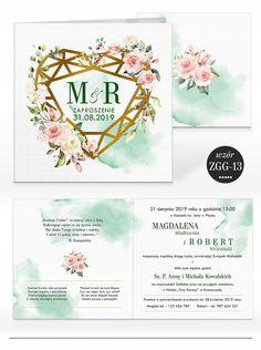 Zaproszenia ślubne RUSTYKALNE KWIATY + KOPERTA 7584587654 - Allegro.pl Wedding Ideas, Wedding Invitations, Wedding Ceremony Ideas