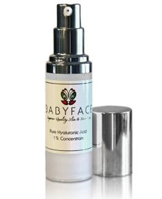 Babyface Pure 1 100 Hyaluronic Acid Concentrate  Pure HA No Fillers Added NO irritants Alcohol FREE Safe for All Skin Types -- More info could be found at the image url. (Note:Amazon affiliate link)