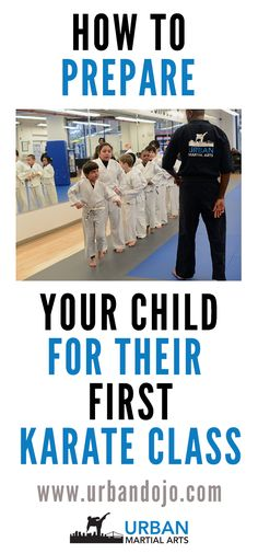 Are you are a parent who just enrolled your child for karate classes? New environments are always tough for children to adapt to. Here's how to prepare your child for their first karate class.