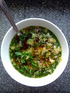 Podróże na języku: Zupa z rzeżuchy