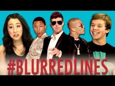 Teens React to Robin Thicke - Blurred Lines Songs (in English & Spanish) can be used to address rape culture messaging via pop culture objectification of women.