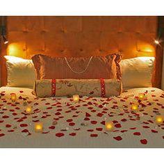 Romantic Hotel Room Decoration #honeymoon