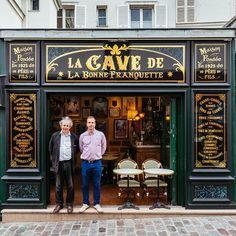 PeritoBurrito | Фотопроект о старинных магазинах Парижа