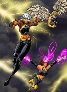 ultimate x-men collab by JamieFayX.deviantart.com on @deviantART