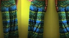 She Makes The Coolest And Easiest Palazzo Pants In No Time At All (Comfy!)   DIY Joy Projects and Crafts Ideas