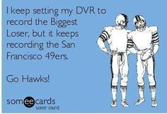 Oh burn! #GoHawks #Seahawks