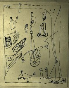 Alejandra Pizarnik: Cuatro prosas : Ignoria (Imagen: Dibujo AP 1972) http://bibliotecaignoria.blogspot.com/2013/09/alejandra-pizarnik-cuatro-prosas.html#.UkMIe4ZWySo