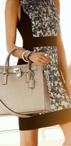 Michael Kors tote bag! absolutely in love with this style