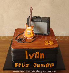 Torta Guitarra PRS + Fender Deluxe
