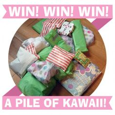 A chance to win a surprise parcel from Supercutekawaii.com