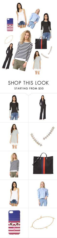 """Outfit Idea..**"" by yagna ❤ liked on Polyvore featuring Enza Costa, Rachel Zoe, Clu, Gorjana, Top Secret Society, Clare V., Splendid, Iphoria, Jennifer Zeuner and vintage"