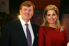 22 March 2014 King Willem-Alexander and Queen Maxima attended the German Media Award in Baden-Baden