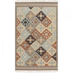 Amvi Hand Woven Wool Rug