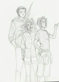 Frank, Leo, and Hazel>>>>>I like how Frank is soooo much more taller than Hazel.