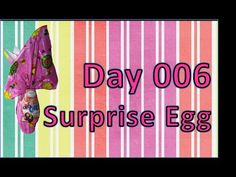 day 006 surprise egg kinder special easter toy giant chocolate - YouTube