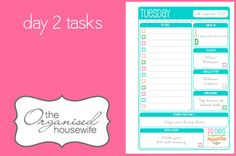{The Organised Housewife} 20 Days to Clean & Organise your home challenge, Day 2