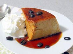 Receta Sencilla de Flan de Cafe | QueRicaVida.com