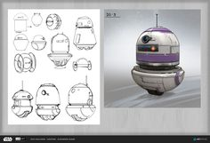 ArtStation - ILM Art Department Challenge: The Job, Alexander Dudar Star Wars Concept Art, Robot Concept Art, Star Wars Droids, Star Wars Rpg, Star Wars Characters Pictures, Star Wars Spaceships, Star Wars Facts, Star War 3, Lord