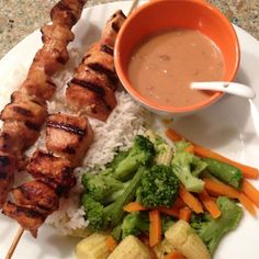 """Indonesian Satay 