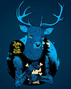 Born to be wild by Diego Leal, via Behance