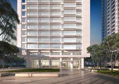 Richard Meier projeta arranha-céu residencial em Taipei