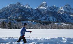 Jackson Hole Cross Country Skiing/Snowshoeing | Wyoming | Grand Teton National Park