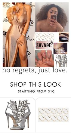 """""""//"""" by melaninmonroee ❤ liked on Polyvore featuring Giuseppe Zanotti, ASOS and Casetify"""