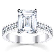 14k White Gold 1 2/5ct TDW Diamond Engagement Ring (H-I, VS1-VS2) | Overstock.com Shopping - Top Rated Engagement Rings