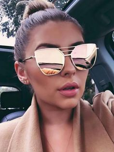 63ecf1f601 Metal Frame Irregular Sunglasses Coachella