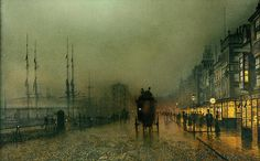 Image result for john atkinson grimshaw paintings