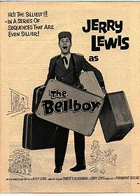 Jerry Lewis in The Bellboy. This movie is so funny and weird!