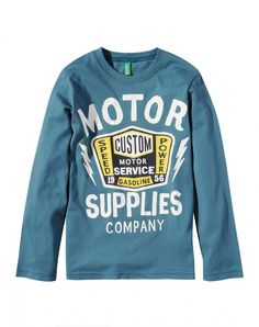 LONG SLEEVE T-SHIRTS-Benetton