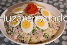 Huzarensalade Puff Pastry Pizza, Wie Macht Man, Comfort Food, Other Recipes, Paella, Salads, Bbq, Good Food, Food And Drink