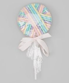 Another great find on #zulily! Pastel Lollipop Hair Tie Holder & Hair Ties by Charla's Place #zulilyfinds