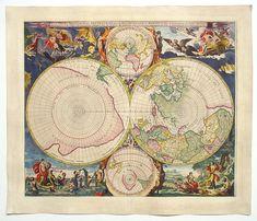 Mapas Antiguos de la Tierra- Old Maps.
