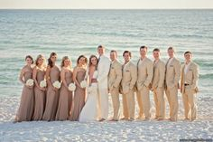 Beach wedding colors // Rosemary Beach Wedding | It's a Shore Thing Wedding Planning | Nouveau Flowers | Meg Baisden Photography