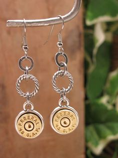 Bullet Casing Jewelry. not for me, but I know some friends who would die for something like this. possible bday gifts?
