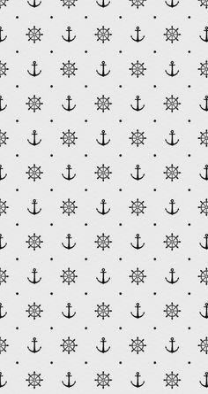 Wallpaper IPhone IPhone Sail, Anchor, Rudder Source by aewolfrider Anchor Wallpaper, Nautical Wallpaper, Navy Wallpaper, Cute Wallpaper Backgrounds, Trendy Wallpaper, Pattern Wallpaper, Cute Wallpapers, Wallpaper Iphone Disney, Computer Wallpaper