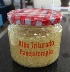 PANELATERAPIA - Blog de Culinária, Gastronomia e Receitas: Alho Triturado