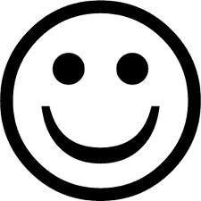kleurplaat smiley boos emoticon irritado cones