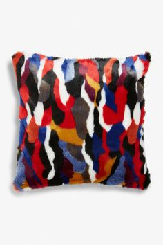 A cushion cover featuring a fluffy feel and a silky zippered back. Not to mention the fabulous colours 3 This style is online exclusive. Measurements: 50 x 50 cm. Cushion Covers, Pillow Covers, Monki, Home Gifts, Home Accessories, Women Wear, Cushions, Colours, Throw Pillows