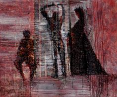 Year: 2003 - Information: Oil on canvas, mixed media painting process