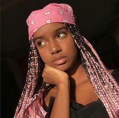 Pink Box Braids Idea 91 fun yarn braid ideas that you will love sass Pink Box Braids. Here is Pink Box Braids Idea for you. Pink Box Braids pinkandblondeboxbraids blonde and pink box braids with. Pink Box Braids, Colored Box Braids, Short Box Braids, Black Girl Braids, Braids For Black Hair, Girls Braids, Box Braids Hairstyles, Bandana Hairstyles, Black Girls Hairstyles