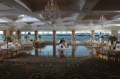 Beautiful Ballroom On The Water At Clarks Landing Wedding Venue