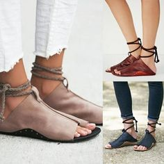 3186495b7834 2018 New Trend Clip Toe Straps Flat Beach Sandals Leather Sandals Flat