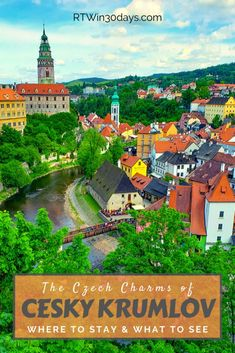 While Český Krumlov can be visited on a (very) long day trip from Prague, it's absolutely worth an overnight stay or even a full weekend. This UNESCO World Heritage town overflows with Czech charm and beauty and deserves a spot on any traveler's European Bucket List. #travel #czechrepublic #ceskykrumlov #prague #daytrip
