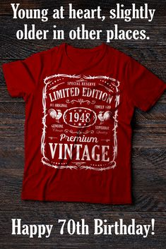 Vintage Genuine 1948 Series Birthday Tshirt Limited Edition All Original Parts Tee Is A Great Gift Idea For Anyone Born In Who Turning 70 Years